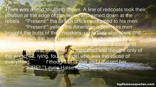Quotes About Redcoats