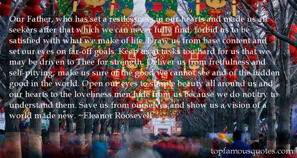Quotes About Restlessness In Love