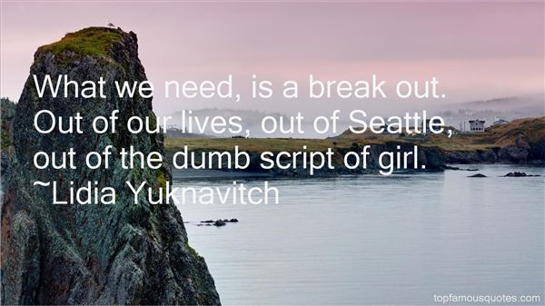 Famous seattle quotes
