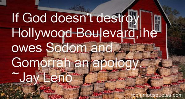 Quotes About Sodom