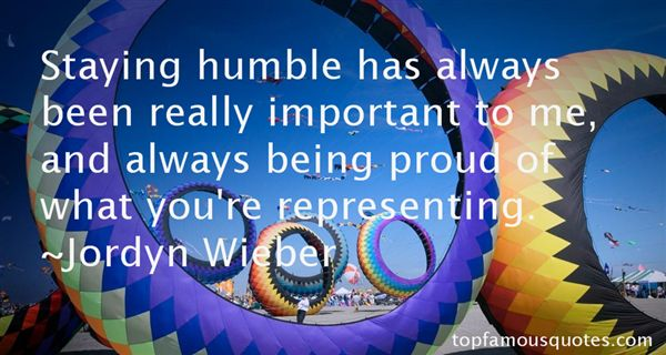 Quotes About Staying Humble