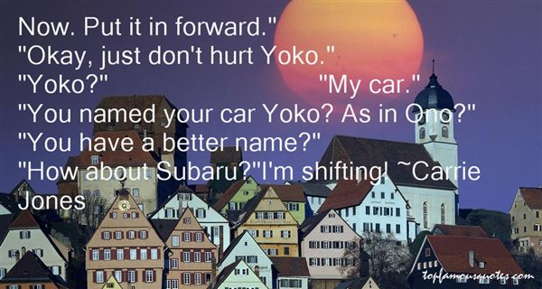 Quotes About Subaru