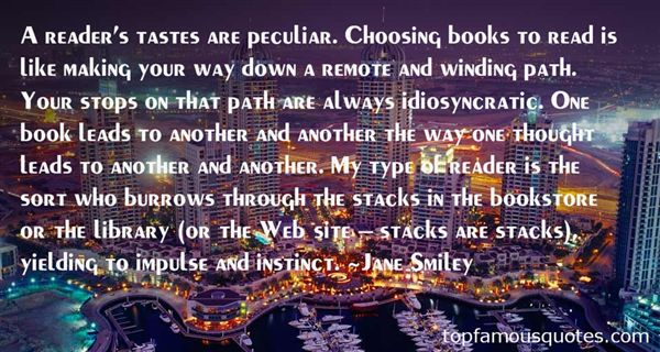 Quotes About Tastes