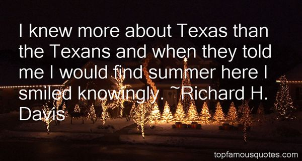 Quotes About Texas Summer