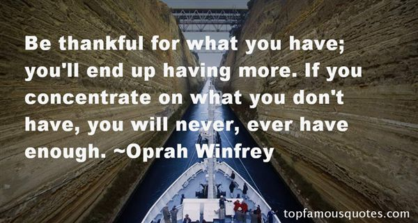 Quotes About Thankful For What You Have