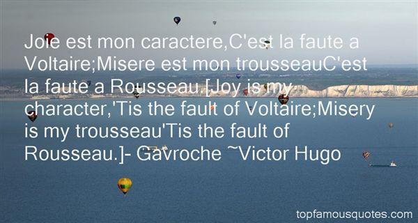Quotes About Voltaire Rousseau