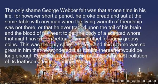 Quotes About Webber