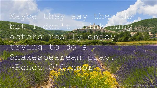 Quotes About Actors Shakespeare