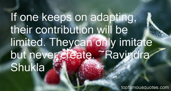 Quotes About Adapting