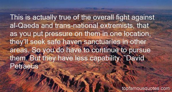 Quotes About Al Qaeda