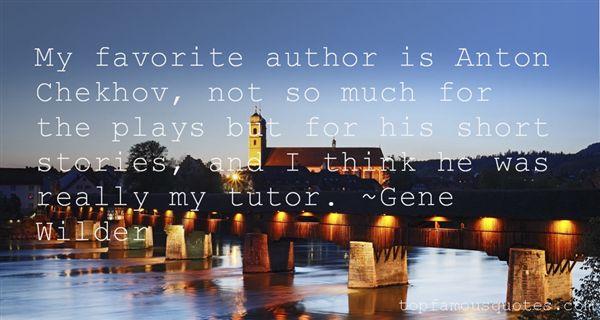 Quotes About Anton Chekhov