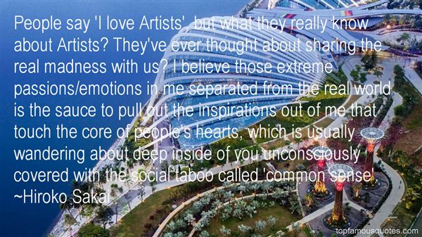 Quotes About Artists Inspiration