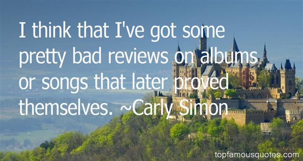 Quotes About Bad Reviews