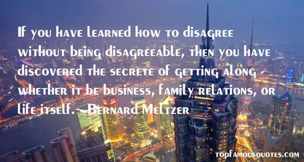 Quotes About Being Disagreeable