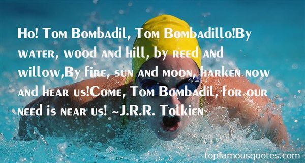 Quotes About Bombadil