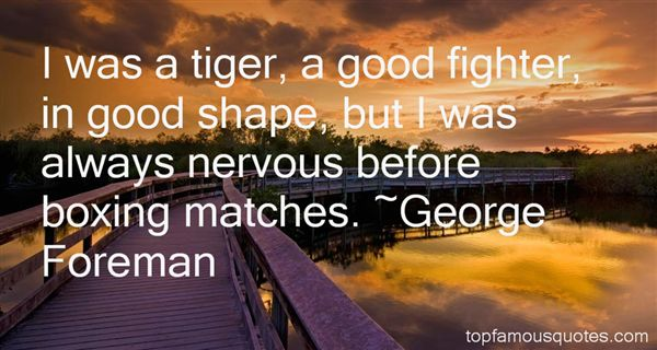 Quotes About Boxing Matches