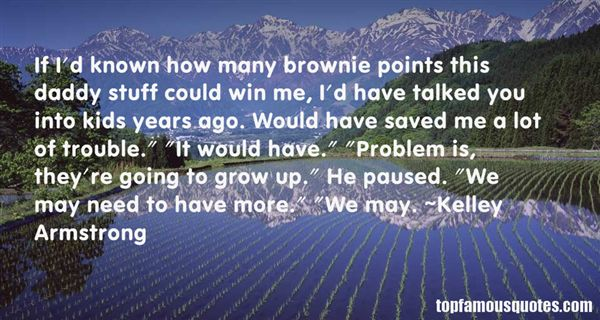 Quotes About Brownie Points