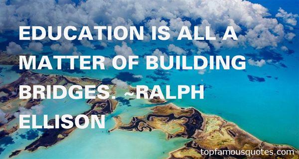 Quotes About Building Bridges