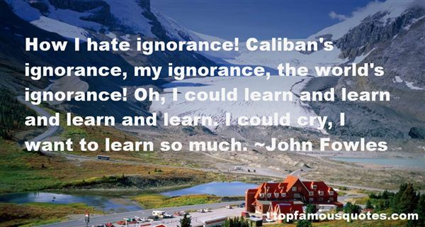 Quotes About Caliban