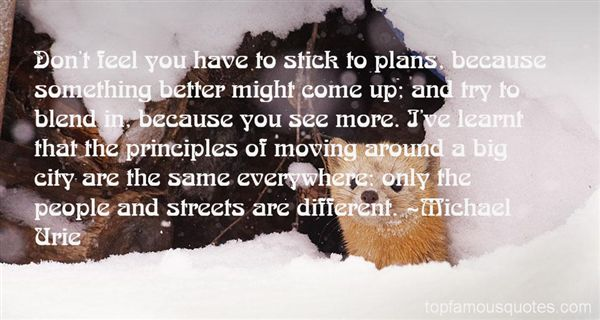 Quotes About City Streets