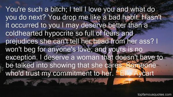 Quotes About Cold Hearted Woman