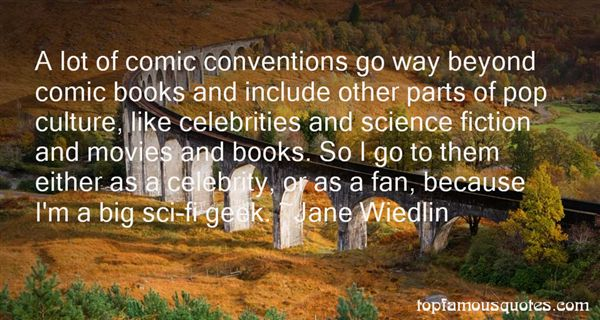 Quotes About Comic Conventions