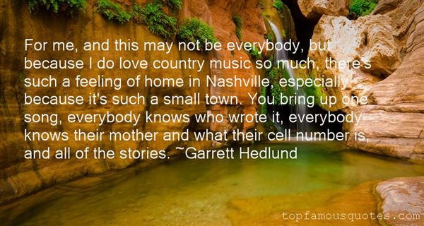 Quotes About Country Music Nashville
