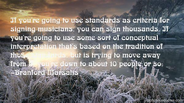 Quotes About Criteria
