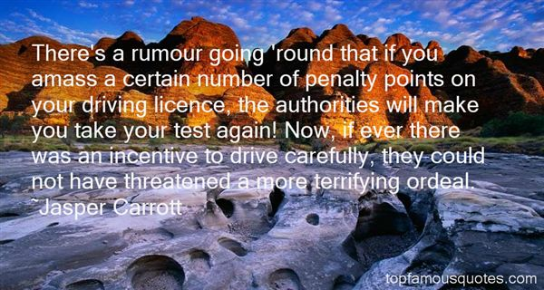 Quotes About Driving Licence