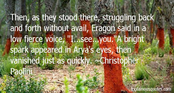 Quotes About Eragon Arya