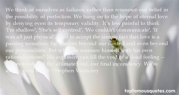 Quotes About Failures In Love