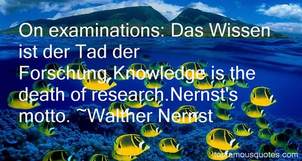 Quotes About Forschung