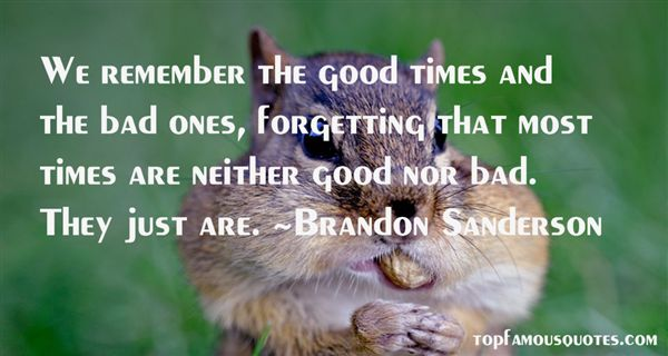 Quotes About Good Times