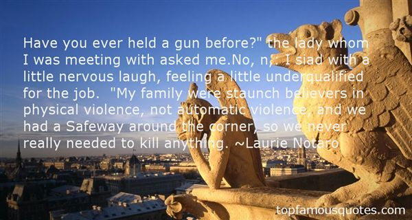 Quotes About Gun Violence