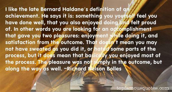 Quotes About Haldane