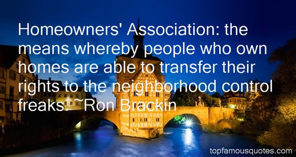 Quotes About Homeowner