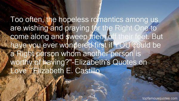 Quotes About Hopeless Romantics