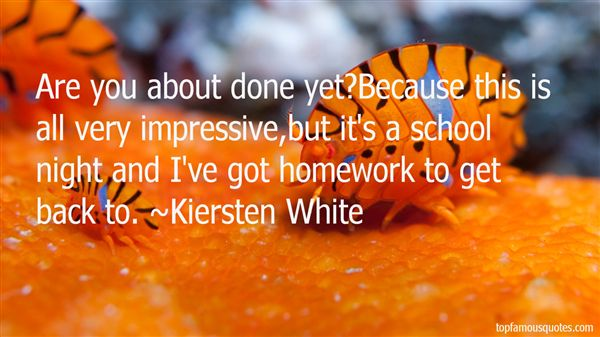 Quotes About Impressive Work