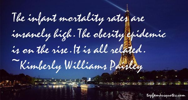 Quotes About Infant Mortality