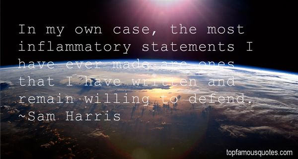 Quotes About Inflammatory