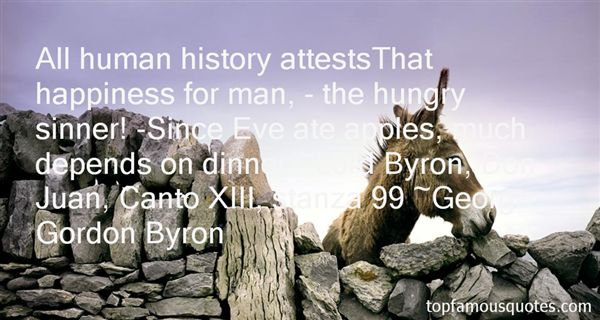 Quotes About Lord Byron