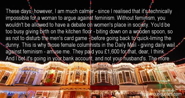 Quotes About Male Privilege