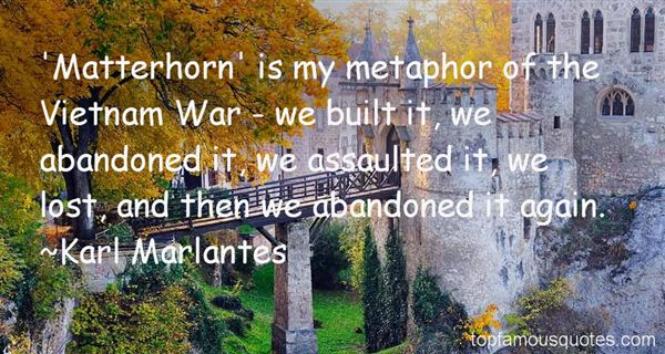 Quotes About Matterhorn