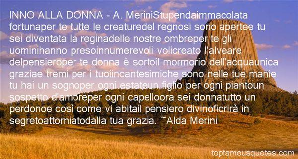 Quotes About Merini