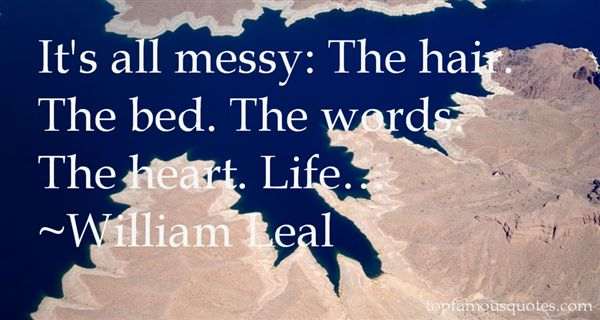 Quotes About Messy Hair