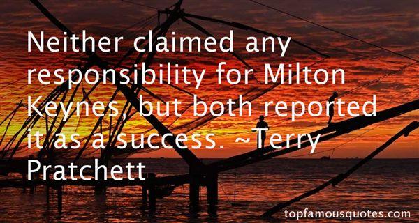 Quotes About Milton Keynes
