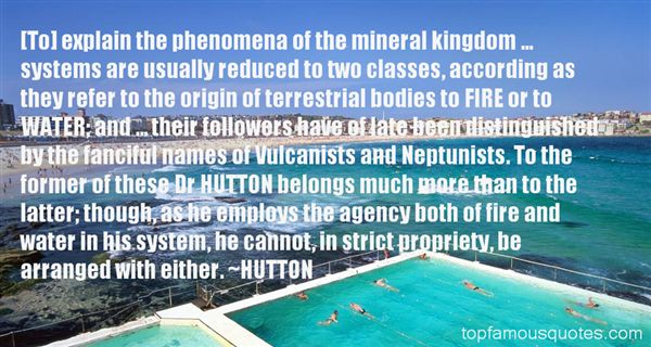 Quotes About Mineral Water