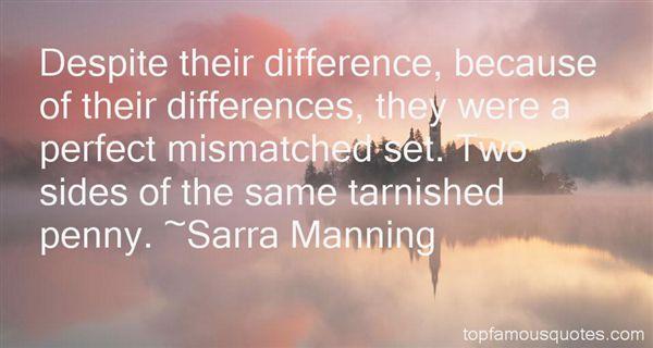 Quotes About Mismatch