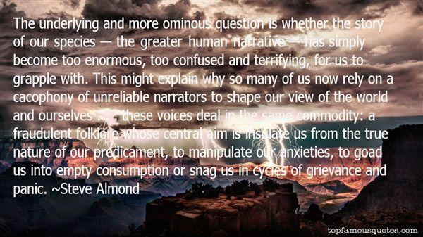 Quotes About Narrators