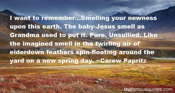 Quotes About Newness Of Spring